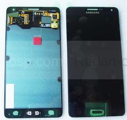 Дисплей с сенсором в сборе Samsung A700H Galaxy A7 (Black), GH97-16922B (оригинал), radan-osp.com - оригинальные комплектующие, фото