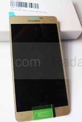 Дисплей с сенсором в сборе Samsung A700H Galaxy A7 (Gold), GH97-16922F (оригинал), radan-osp.com - оригинальные комплектующие, фото