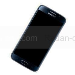 Дисплей с сенсором и передней панелью в сборе Samsung G925F Galaxy S6 Edge (Black), GH97-17162A (оригинал), radan-osp.com - оригинальные комплектующие, фото