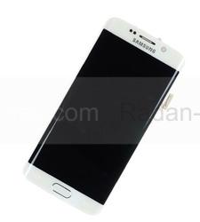 Дисплей с сенсором и передней панелью в сборе Samsung G925F Galaxy S6 Edge (White), GH97-17162B (оригинал), radan-osp.com - оригинальные комплектующие, фото