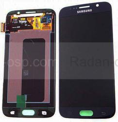 Дисплей с сенсором и передней панелью в сборе Samsung G920F Galaxy S6 Single Sim (Black), GH97-17260A (оригинал), radan-osp.com - оригинальные комплектующие, фото