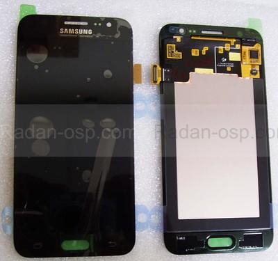 Дисплей с сенсором Samsung Galaxy J5 J500H, J500F/ FN (Black) модуль, GH97-17667B (оригинал)
