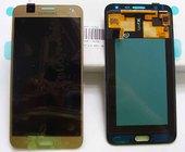 Дисплей с сенсором Samsung Galaxy J7 J700H (Gold) модуль, GH97-17670B (оригинал)