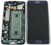 Сенсор с дисплеем и передней панелью Samsung Galaxy S6 Edge Plus G928F (Black), GH97-17819B (оригинал)