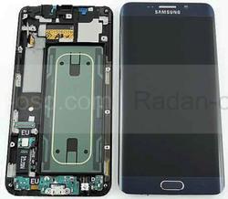 Сенсор с дисплеем и передней панелью Samsung Galaxy S6 Edge Plus G928F (Black), GH97-17819B (оригинал), radan-osp.com - оригинальные комплектующие, фото