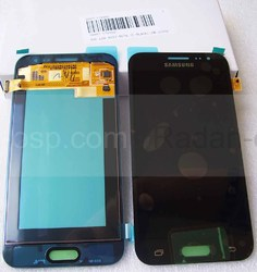 Дисплей с сенсором в сборе Samsung Galaxy J2 Duos J200H (Black), GH97-17940C (оригинал), radan-osp.com - оригинальные комплектующие, фото
