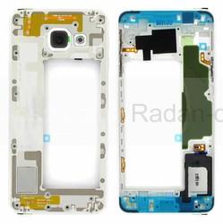 Средняя часть корпуса Samsung Galaxy A3 A310 Duos 2016 White, GH97-18074C (оригинал), radan-osp.com - оригинальные комплектующие, фото