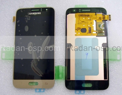 Дисплей с сенсором (тачскрином) Samsung Galaxy J1 J120 (2016) Gold, GH97-18224B (оригинал)