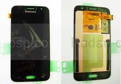 Дисплей с сенсором (тачскрином) Samsung Galaxy J1 J120 (2016) Black, GH97-18224C (оригинал), radan-osp.com - оригинальные комплектующие, фото