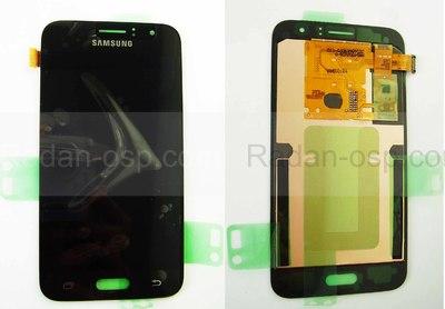 Дисплей с сенсором (тачскрином) Samsung Galaxy J1 J120 (2016) Black, GH97-18224C (оригинал)