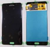 Дисплей с сенсором Samsung Galaxy A7 A710 Duos 2016 Black, GH97-18229B (оригинал)