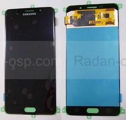 Дисплей с сенсором Samsung Galaxy A7 A710 Duos 2016 Black, GH97-18229B (оригинал), radan-osp.com - оригинальные комплектующие, фото