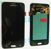 Дисплей с сенсором (тачскрином) Samsung Galaxy J3 Duos J320 (2016) Black, GH97-18414C (оригинал)