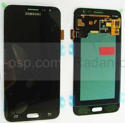 Дисплей с сенсором (тачскрином) Samsung Galaxy J3 J320 (2016) Black, GH97-18414C/ GH97-18748C (оригинал), radan-osp.com - оригинальные комплектующие, фото