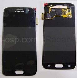 Дисплей с сенсором Samsung Galaxy S7 G930F (Black) модуль, GH97-18523A (оригинал), radan-osp.com - оригинальные комплектующие, фото