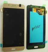 Дисплей с сенсором (тачскрином) Samsung Galaxy J5 J510 (2016) Gold SuperAMOLED, GH97-18792A/ GH97-19467A (оригинал)