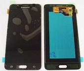 Дисплей с сенсором (тачскрином) Samsung Galaxy J5 J510 (2016) Black SuperAMOLED, GH97-18792B/ GH97-19466B/ GH97-19467B (оригинал)