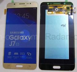 Дисплей с сенсором (тачскрином) Samsung Galaxy J7 J710H, J710F (2016) Gold, GH97-18855A (оригинал), radan-osp.com - оригинальные комплектующие, фото
