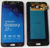 Дисплей с сенсором (тачскрином) Samsung Galaxy J7 J710H, J710F (2016) Black, GH97-18931B/ GH97-18855B (оригинал)