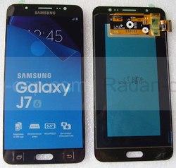 Дисплей с сенсором (тачскрином) Samsung Galaxy J7 J710H, J710F (2016) Black, GH97-18855B/ GH97-18931B (оригинал), radan-osp.com - оригинальные комплектующие, фото