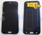 Дисплей с сенсором Samsung Galaxy A7 A720F 2017 Black Super AMOLED, GH97-19723A (оригинал)