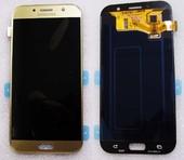 Дисплей с сенсором Samsung Galaxy A7 A720F 2017 Gold Super AMOLED, GH97-19723B (оригинал)