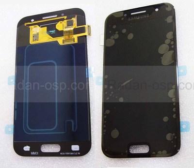 Дисплей с сенсором Samsung Galaxy A3 A320F 2017 Black Super AMOLED, GH97-19732A (оригинал)