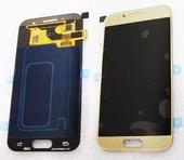 Дисплей с сенсором Samsung Galaxy A3 A320F 2017 Gold Super AMOLED, GH97-19732B (оригинал)