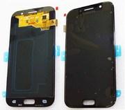 Дисплей с сенсором Samsung Galaxy A5 A520F 2017 Black Super AMOLED, GH97-19733A (оригинал)