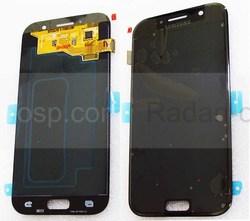 Дисплей с сенсором Samsung Galaxy A5 A520F 2017 Black Super AMOLED, GH97-19733A (оригинал), radan-osp.com - оригинальные комплектующие, фото