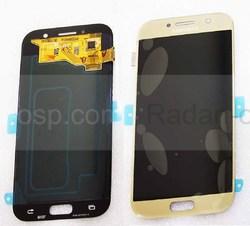 Дисплей с сенсором Samsung Galaxy A5 A520F 2017 Gold Super AMOLED, GH97-19733B (оригинал), radan-osp.com - оригинальные комплектующие, фото