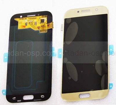 Дисплей с сенсором Samsung Galaxy A5 A520F 2017 Gold Super AMOLED, GH97-19733B (оригинал)