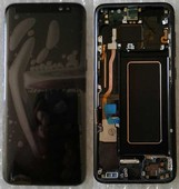 Дисплей с сенсором Samsung Galaxy S8 G950/ G950F Black Super AMOLED, GH97-20457A (оригинал)