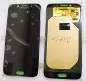 Дисплей с сенсором (тачскрином) Samsung Galaxy J7 J730 (2017) Black SuperAMOLED, GH97-20736A (оригинал)