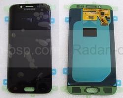 Дисплей с сенсором (тачскрином) Samsung Galaxy J5 J530 (2017) Black SuperAMOLED, GH97-20738A (оригинал), radan-osp.com - оригинальные комплектующие, фото