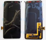 Дисплей з сенсором Samsung Galaxy A8 (2018) A530 Super AMOLED Black (для моделей всіх кольорів), GH97-21406A (оригінал)