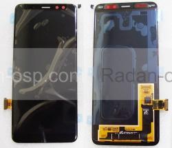 Дисплей с сенсором Samsung Galaxy A8 (2018) A530 Super AMOLED Black (для моделей всех цветов), GH97-21406A (оригинал), radan-osp.com - оригинальные комплектующие, фото