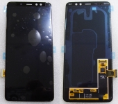 Дисплей с сенсором Samsung Galaxy A8 plus 2018 A730 Black Super AMOLED (для моделей всех цветов), GH97-21534A (оригинал)