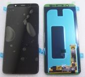 Дисплей с сенсором Samsung Galaxy A6 Plus A605 дисплейный модуль Super AMOLED (Black), GH97-21878A (оригинал)