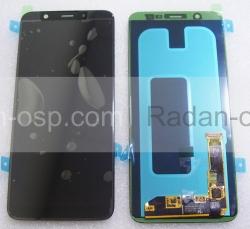 Дисплей с сенсором Samsung Galaxy A6 Plus A605 дисплейный модуль Super AMOLED (Black), GH97-21878A (оригинал), radan-osp.com - оригинальные комплектующие, фото