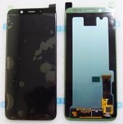 Дисплей с сенсором Samsung Galaxy A6 A600 дисплейный модуль Super AMOLED (Black), GH97-21898A/ GH97-21897A (оригинал)