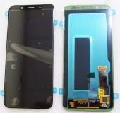 Дисплей с сенсором Samsung Galaxy J6 (2018) J600/ J600F (Black) дисплейный модуль Super AMOLED, GH97-21931A/ GH97-22048A (оригинал)