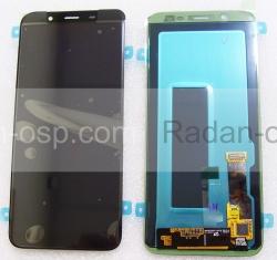 Дисплей с сенсором Samsung Galaxy J6 (2018) J600/ J600F (Black) дисплейный модуль Super AMOLED, GH97-21931A (оригинал), radan-osp.com - оригинальные комплектующие, фото