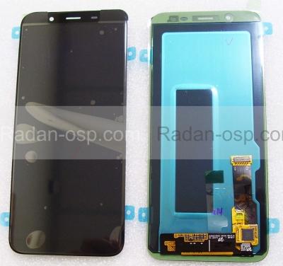 Дисплей с сенсором Samsung Galaxy J6 (2018) J600/ J600F (Black) дисплейный модуль Super AMOLED, GH97-21931A (оригинал)
