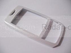 Samsung E250 Передняя панель слайдера, white, GH98-02259C (оригинал), radan-osp.com - оригинальные комплектующие, фото