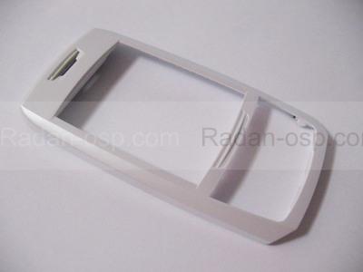 Samsung E250 Передняя панель слайдера, white, GH98-02259C (оригинал)