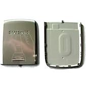 Samsung E250 Крышка батарейная (аккумуляторная), silver, GH98-03586A (оригинал)