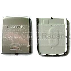 Samsung E250 Крышка батарейная (аккумуляторная), silver, GH98-03586A (оригинал), radan-osp.com - оригинальные комплектующие, фото