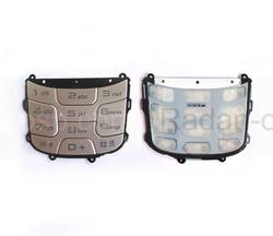 Samsung E740 Клавиатура, silver, GH98-03670A (оригинал), radan-osp.com - оригинальные комплектующие, фото