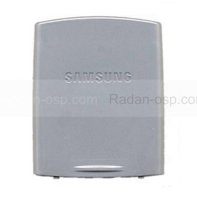 Samsung U600 Крышка батарейная (аккумуляторная), silver, GH98-04770G (оригинал)